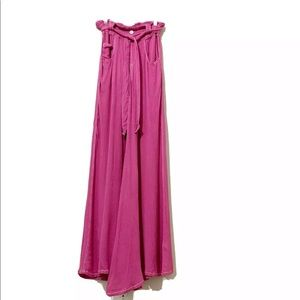 Free People High Waisted Wide Leg Pants Size SP